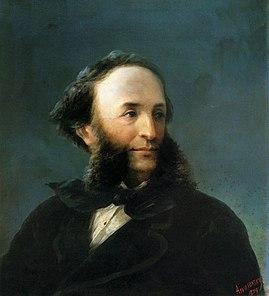 Портрет И. К. Айвазовского.
