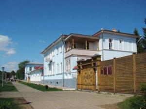 Дом - музей И.И. Шишкина в Елабуге.