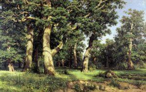 """""""Дубовая роща"""", 1887;"""