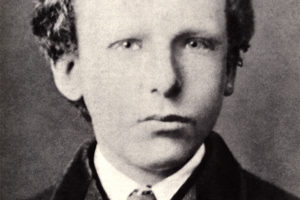 Ван Гог в детстве.