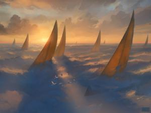 «Cloud Regatta» («Облачная регата»), Артем Чебоха