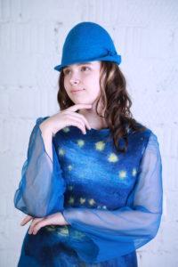 """Комплект одежды  """"Ван Гог. Звездная ночь над Роной""""."""